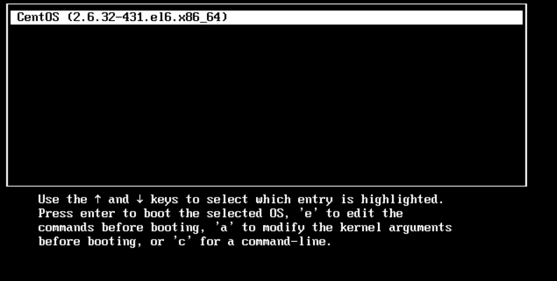 重置Centos 6系统密码的方法