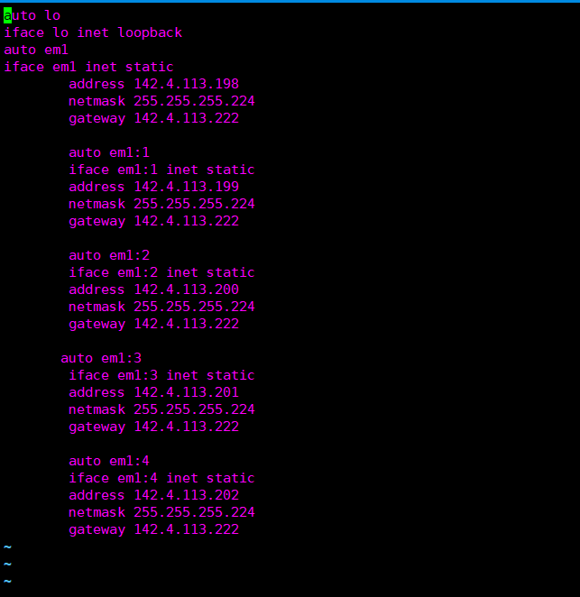 如何在ubuntu 14.04&16.04版本中批量添加IP
