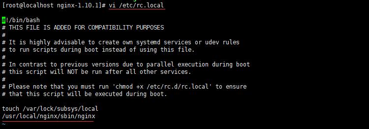 Centos7 安装nginx并启动